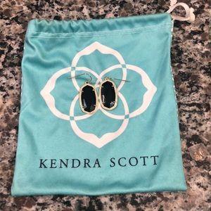 Kendra Scott Black Dani Earrings